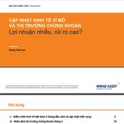 MASVN: Kinh tế vĩ mô và thị trường chứng khoán - Lợi nhuận nhiều, rủi ro cao?
