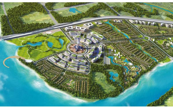 Đồng Nai điều chỉnh quy hoạch 1/500 khu đô thị 332 ha của DIC Corp