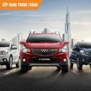 Top xe bán chạy tháng 5: VinFast Fadil vươn lên dẫn đầu