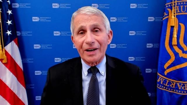 Tiến sĩ Anthony Fauci, Giám đốc Viện Dị ứng và Bệnh truyền nhiễm Quốc gia của Mỹ. Ảnh: CNN.