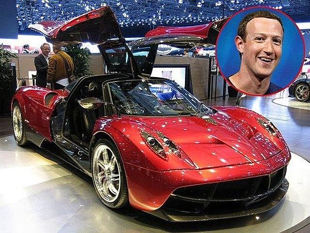 Nhà sáng lập Facebook thể hiện đam mê xe hơi khi sở hữu Pagani Huayra