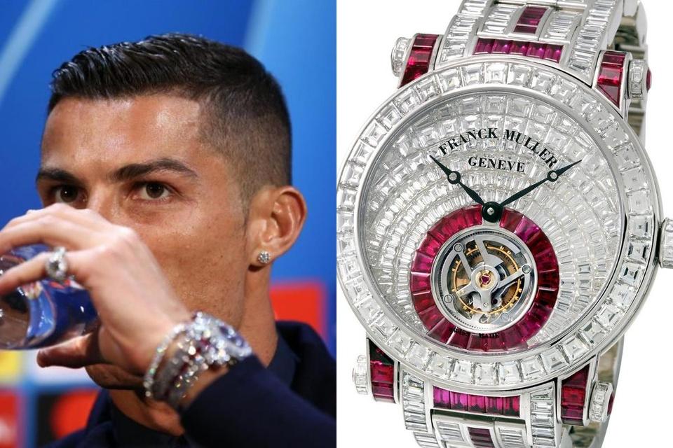 Những cầu thủ bóng đá nổi tiếng từng đeo đồng hồ gì?