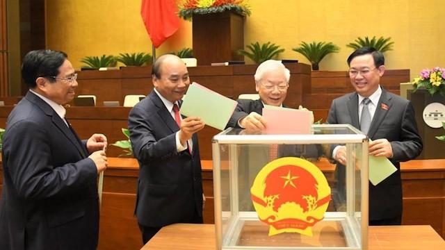 Quốc hội bầu Chủ tịch nước, Thủ tướng Chính phủ tại kỳ họp tháng 7