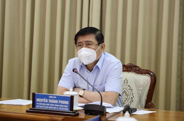 Chủ tịch UBND TP Nguyễn Thành Phong.