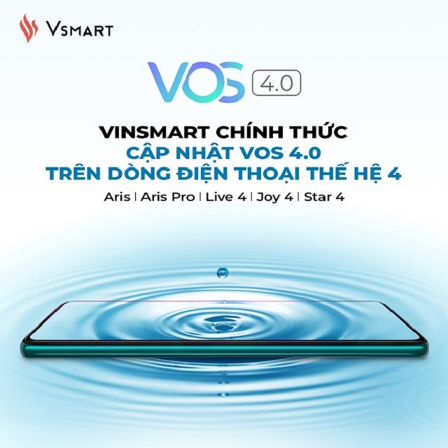 Loạt điện thoại VinSmart được cập nhật phần mềm VOS 4.0