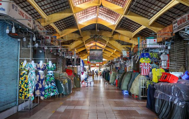 Chợ Bến Thành, quận 1, TP HCM. Ảnh: VnExpress.