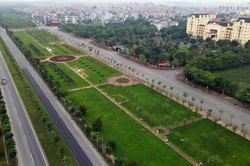 Đầu tư giai đoạn 2 đường trục KĐT mới Mê Linh đoạn xen kẹp qua Hà Nội
