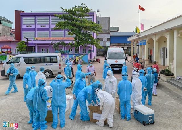 Việt Nam có thêm 265 ca mắc Covid-19 trong sáng nay.
