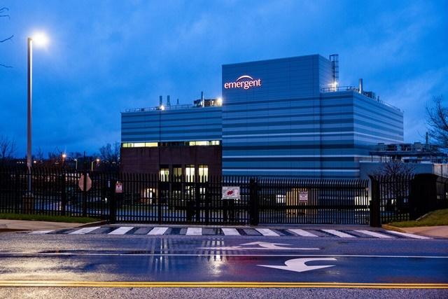 Nhà máy Emergent BioSolutions ở thành phố Baltimore. Ảnh: Shutterstock.