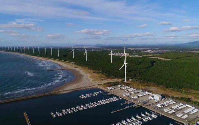 Mitsubishi sắp xây dựng nhà máy điện gió tại Lào để bán điện cho Việt Nam.