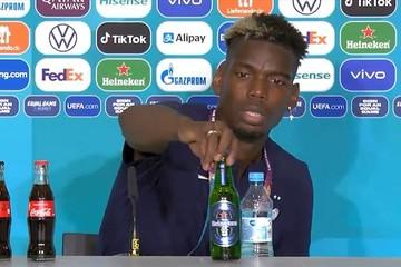 Sau vụ Ronaldo và Coca-Cola, đến lượt Pogba làm Heineken và BTC Euro 2020 khó xử