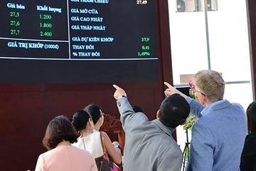 Khối ngoại tiếp tục bán ròng 113 tỷ đồng trên HoSE trong phiên 17/6, gom mạnh VCB