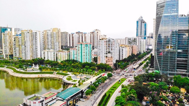 Giá chung cư Hà Nội tiếp tục tăng