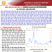 Agriseco Research: Triển vọng ngành Logistics và cảng biển