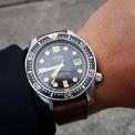 <p> Mẫu 6159-7000 có vỏ nguyên khối. Điều này giúp ngăn chặn chất lỏng xâm nhập vào thiết bị. Bên cạnh đó, khả năng chống nước 300 m giúp mẫu đồng hồ được đánh giá cao. Năm 1968, 6159-7000 đại diện cho sự đỉnh cao của kỹ thuật làm đồng hồ lặn. Ảnh: <em>The Watch Site.</em></p>