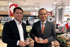 Vải thiều Việt Nam được doanh nghiệp Nhật Bản 'đua' nhau nhập hàng