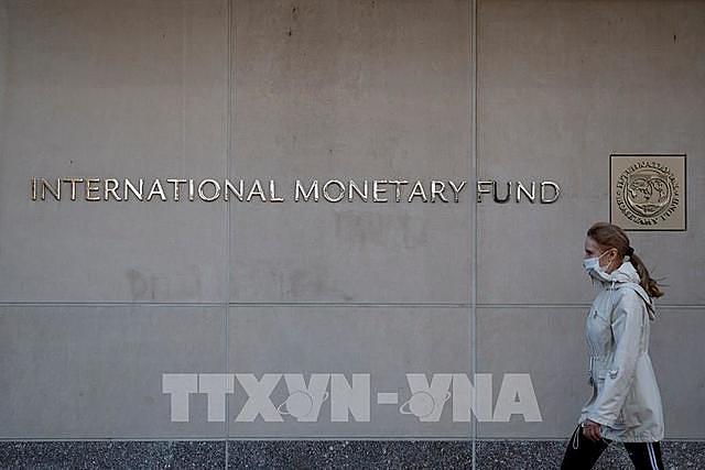 Trụ sở Quỹ Tiền tệ quốc tế ở Washington DC., Mỹ ngày 30/3/2021. Ảnh: THX/TTXVN T