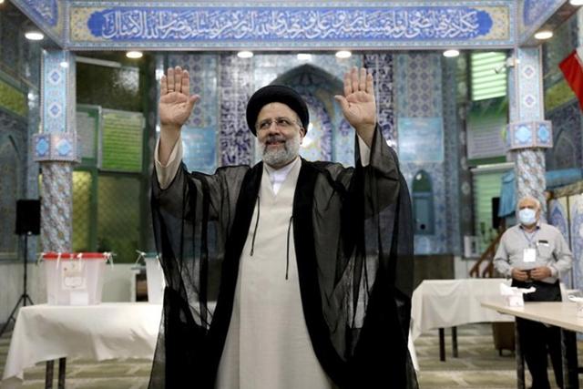 Thẩm phán bảo thủ Ebrahim Raisi đắc cử Tổng thống Iran. Ảnh: AP.