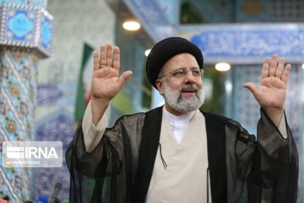 Tổng thống đắc cử Iran Ebrahim Raisi. (Ảnh: IRNA/TTXVN)