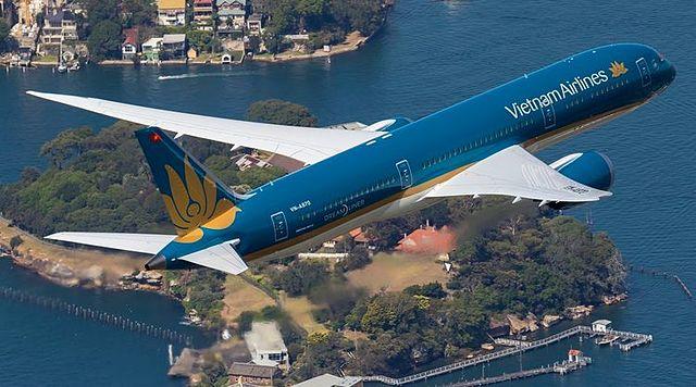 Vietnam Airlines bên bờ vực phá sản. Ảnh: Vietnam Airlines.