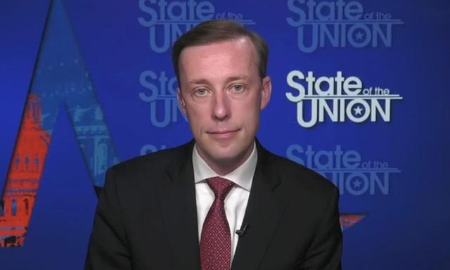 Cố vấn Sullivan xuất hiện trên truyền hình hôm 20/6. Ảnh: CNN.