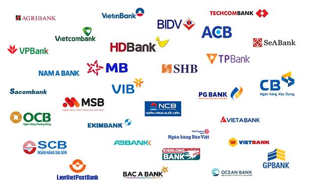 Việt Nam có 28 ngân hàng trên sàn chứng khoán.
