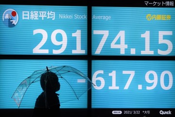 Chứng khoán châu Á giảm, thị trường Nhật Bản lao dốc hơn 3%