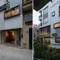 """<p class=""""Normal""""> Ngôi nhà tại Hà Nội có kích thước đất 4,2 m x 10 m, nằm trong hẻm nhỏ rất yên tĩnh. Ngõ rộng 3 m là đường cũng như lối đi chính vào nhà.</p>"""