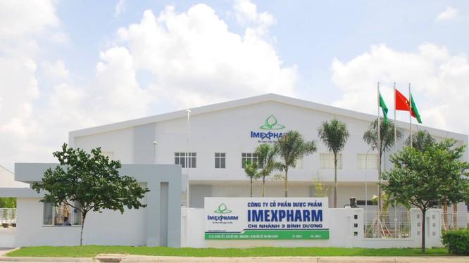 Doanh nghiệp thành lập một tháng thành cổ đông lớn của Imexpharm