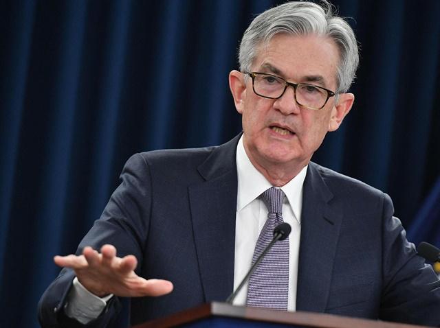 Chủ tịch Cục Dự trữ Liên bang Mỹ (Fed) Jerome Powell. (Nguồn: AFP/TTXVN)