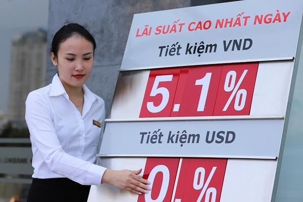 Lãi suất tiết kiệm ngân hàng nào cao nhất