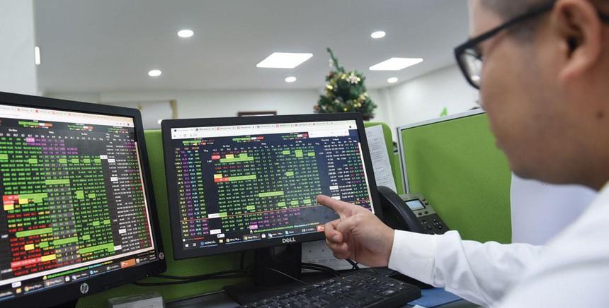 VN-Index tăng hơn 7 điểm, thanh khoản giảm