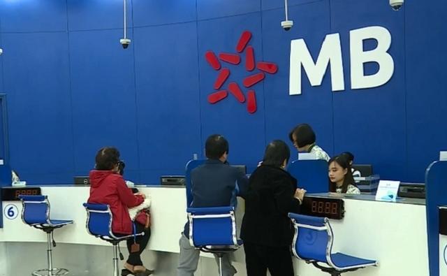 MB được chấp thuận tăng vốn điều lệ lần một. Ảnh: MB.