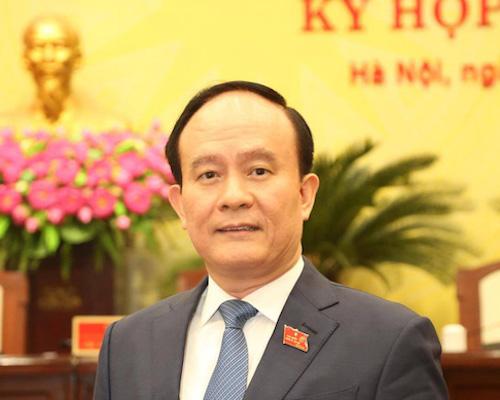 Tân Chủ tịch HĐND thành phố Hà Nội Nguyễn Ngọc Tuấn.