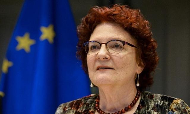 Bà Andrea Ammon, giám đốc ECDC. Ảnh: EP.