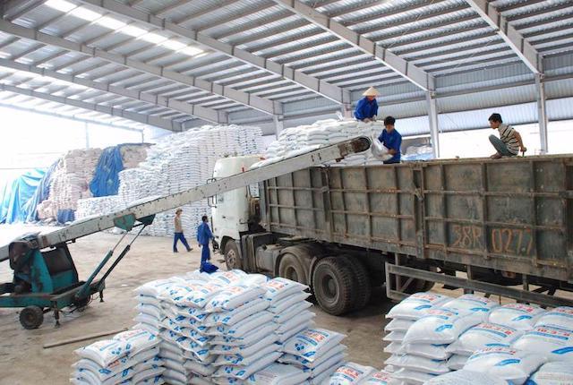 Lần đầu tiên, xuất khẩu phân bón đạt khối lượng và kim ngạch cao nhất.