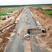 Nhiều vị trí tại khu tái định cư sân bay Long Thành bị sụt lún