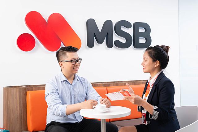 Ngân hàng có thể vượt kế hoạch kinh doanh trong năm nay. Ảnh: MSB.