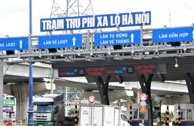 CII kiến nghị giảm giá vé qua trạm thu phí Xa lộ Hà Nội