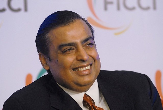 'Gánh nặng' trên vai tỷ phú Ấn Độ Mukesh Ambani