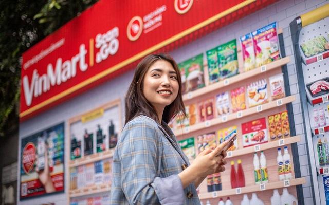 Mô hình cửa hàng mới tích hợp VinMart - Phúc Long - Techcombank
