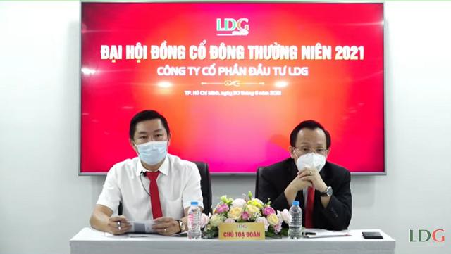 Chủ tịch LDG: Nửa cuối năm nay sẽ đưa cổ phiếu về mệnh giá