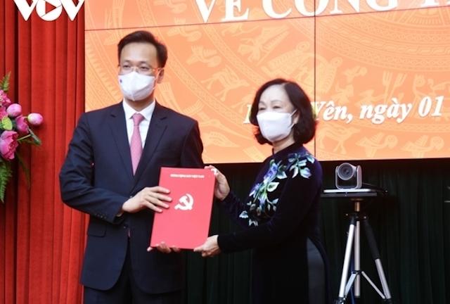 Phó Ban Kinh tế Trung ương làm Bí thư Hưng Yên