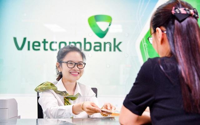 Tín dụng Vietcombank tăng gần 9% trong 6 tháng