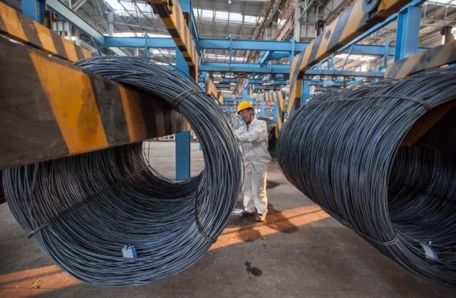 Sản lượng và giá thép ở Trung Quốc có xu hướng giảm trong tháng 7
