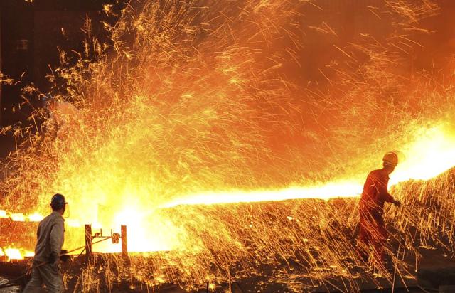 Giá quặng sắt, thép ở Trung Quốc đồng loạt giảm