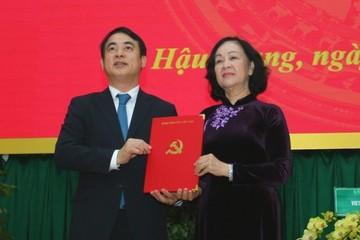 Chủ tịch Vietcombank làm Bí thư Tỉnh ủy Hậu Giang