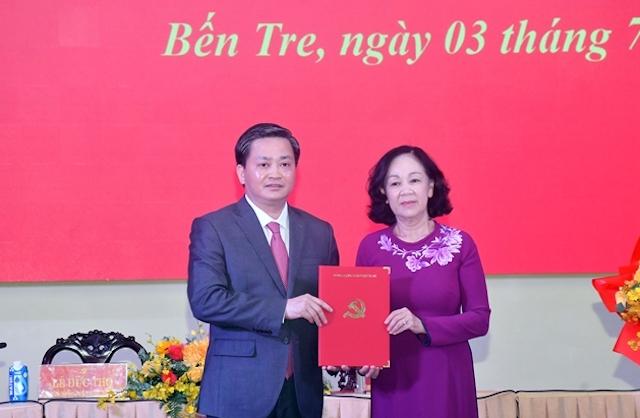 Trưởng Ban Tổ chức Trung ương Trương Thị Mai