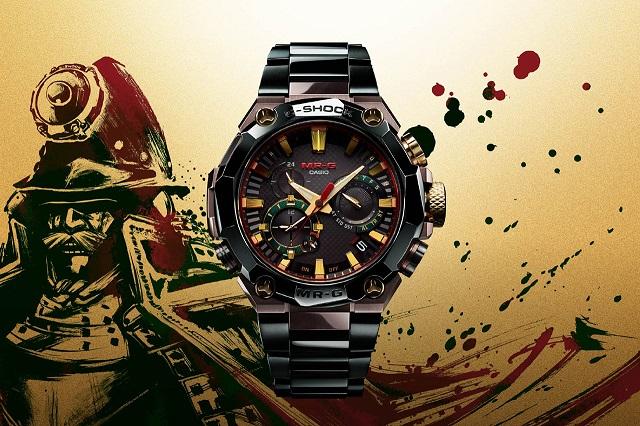 Đồng hồ G-SHOCK giá 8.000 USD lấy cảm hứng từ áo giáp của chiến binh Samurai