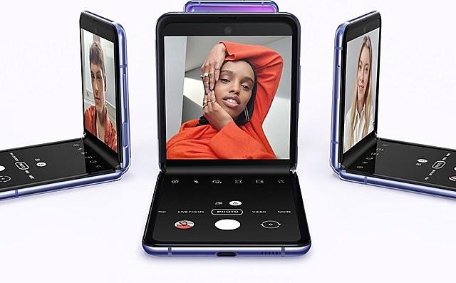 Điện thoại Galaxy Z gập mới của Samsung. Ảnh: https://www.samsung.com/